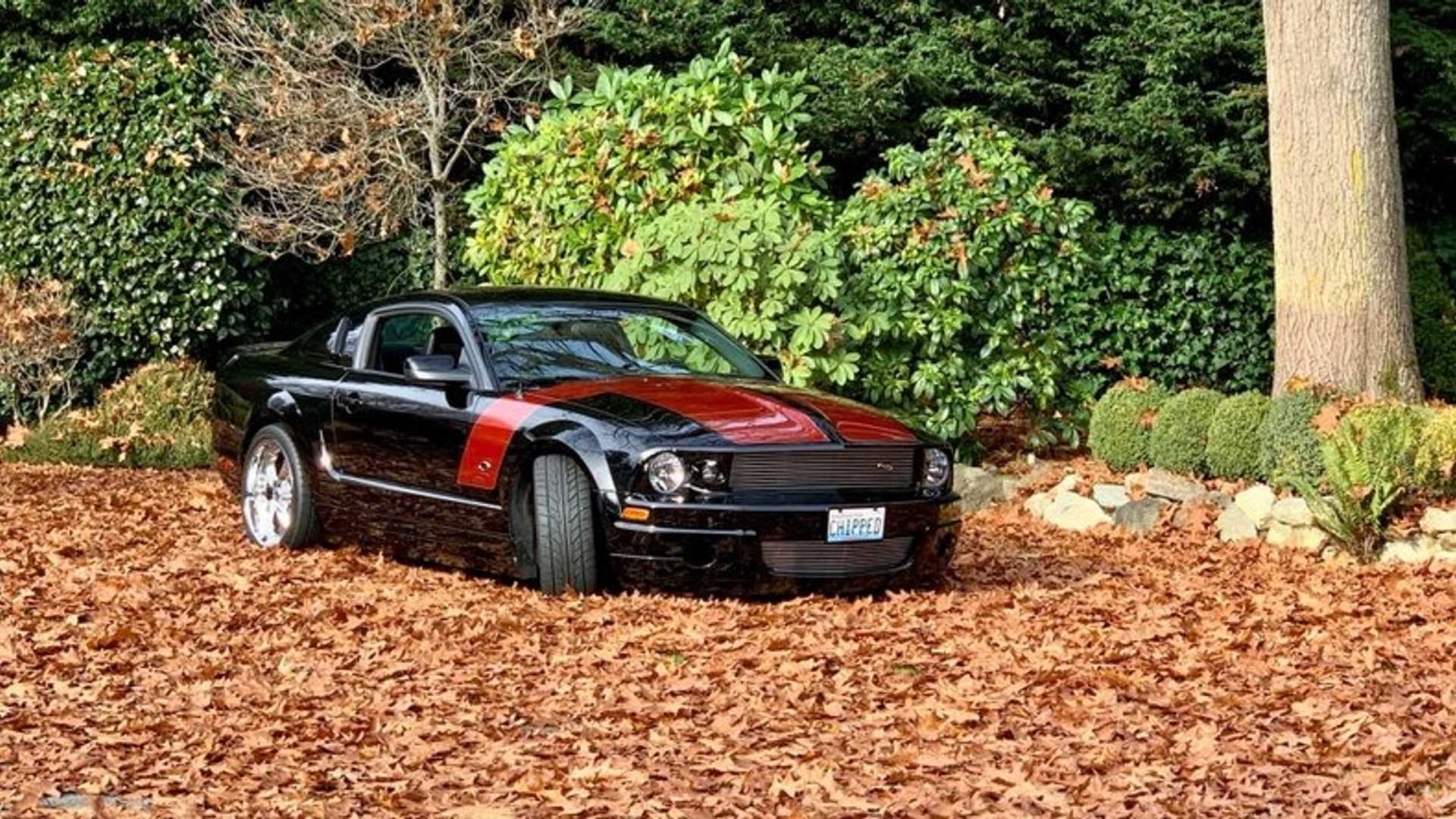 """[""""Gallop Away In A Rare 2007 Foose Stallion Ford Mustang""""]"""
