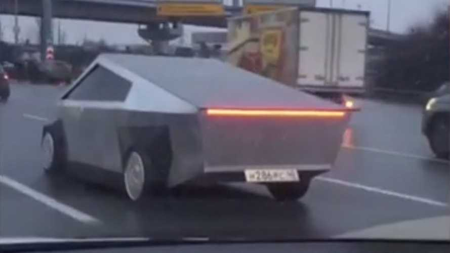 Who Is The Man Behind This Russian Cybertruck? Help Us Find Out