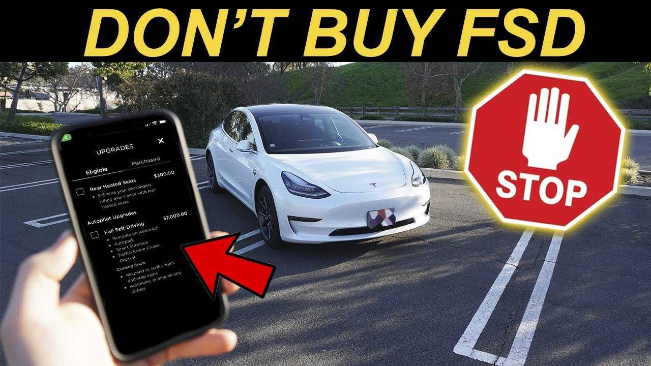 Why You Should Wait To Buy Tesla's Full Self-Driving Option - InsideEVs