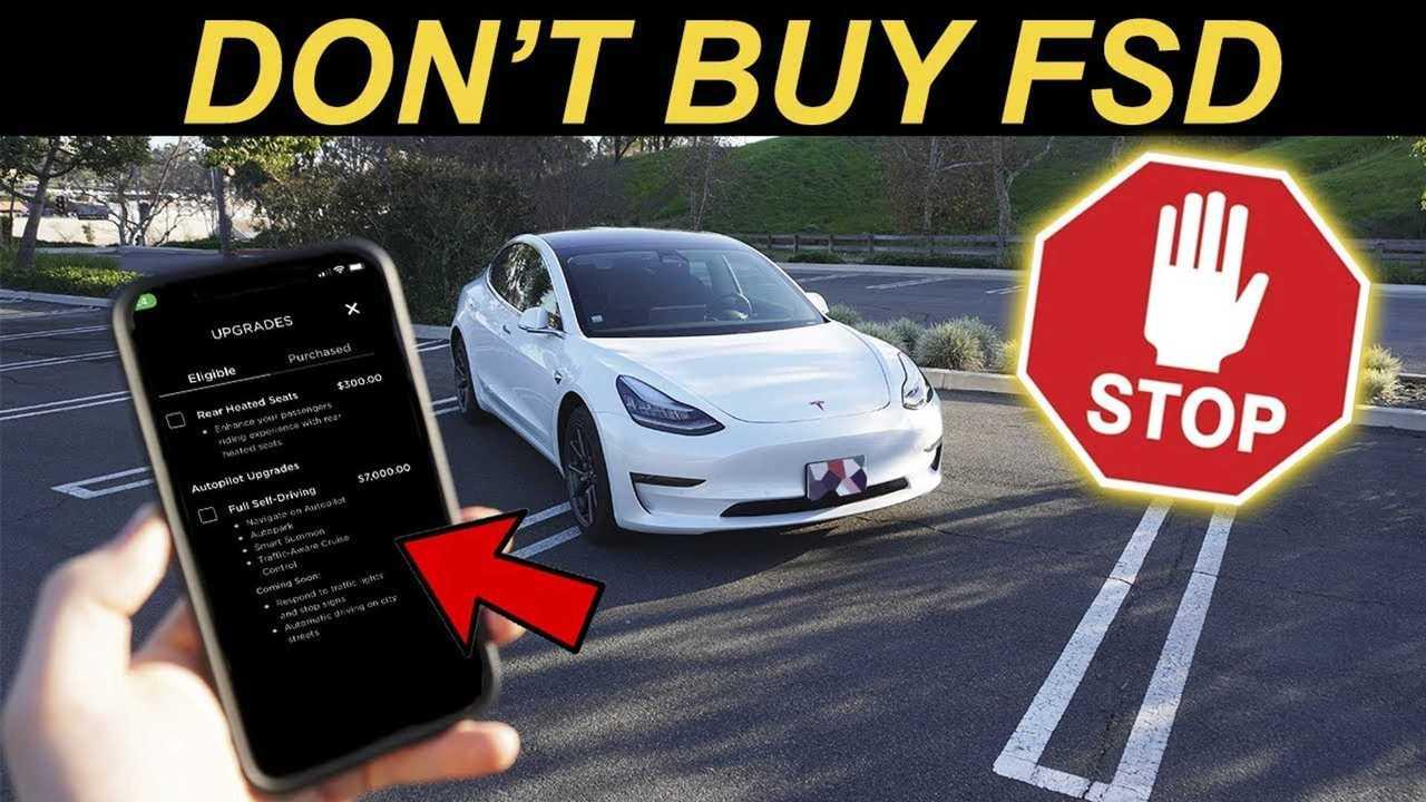 Por qué debería esperar para comprar la opción de autoconducción completa de Tesla 30
