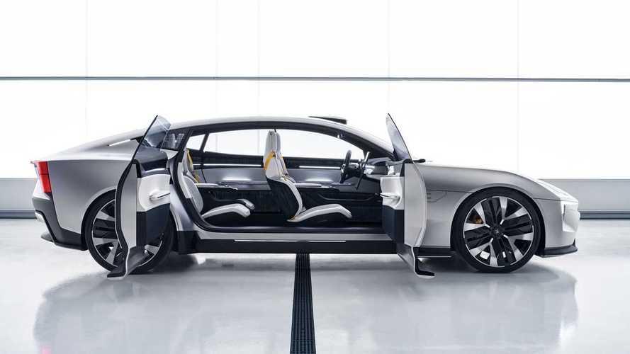Volvo выпустит электрическое кросс-купе