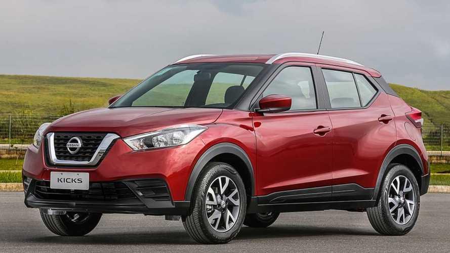 Nissan Kicks alcança 140 mil unidades produzidas no Brasil em 3 anos