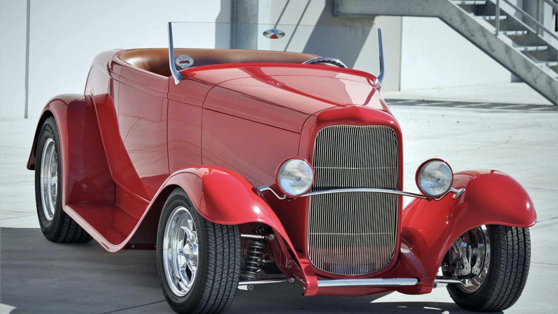 """[""""Professionally Built Hot Rods and Custom Vehicles at Scottsdale""""]"""