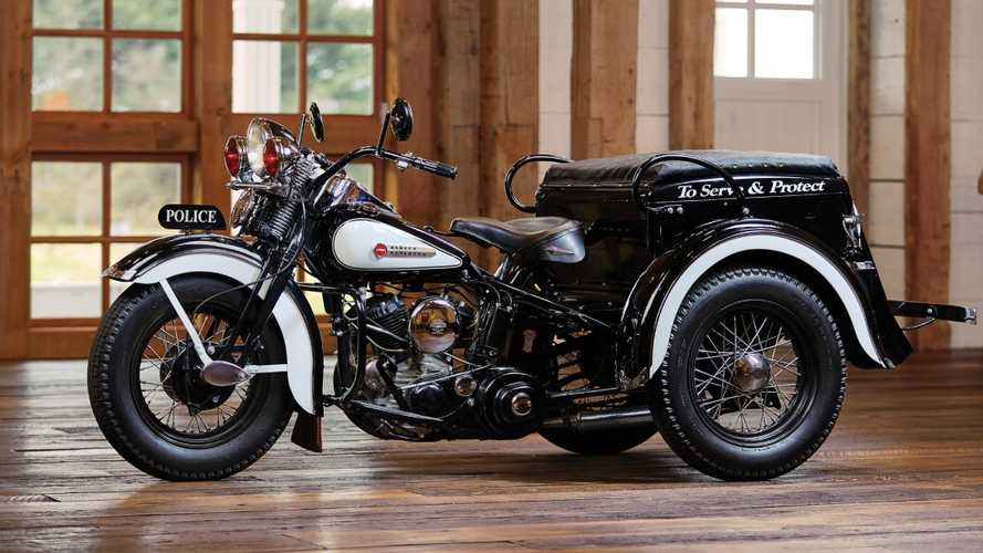 Shiny Harley-Davidson Servi-Car Is Looking For A New Home
