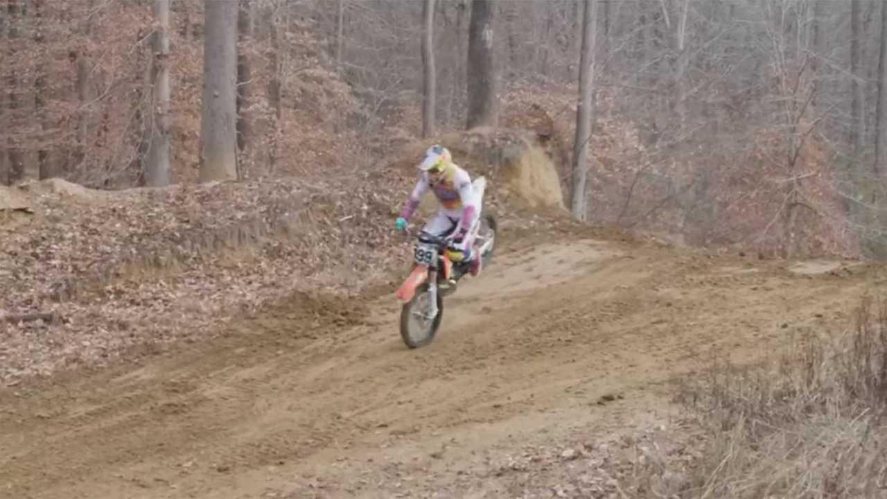 Travis Pastrana's New KTM