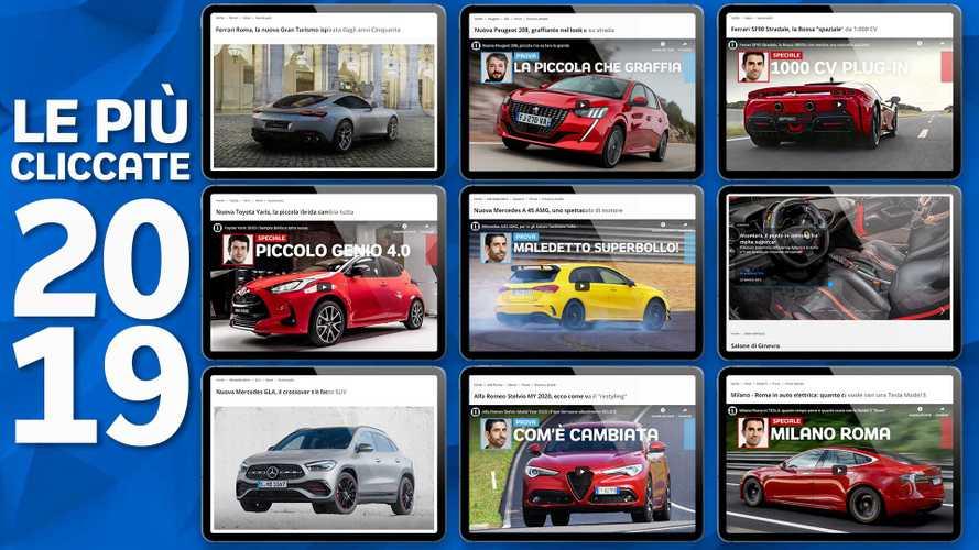 """Le auto più """"cliccate"""" del 2019 su Motor1"""