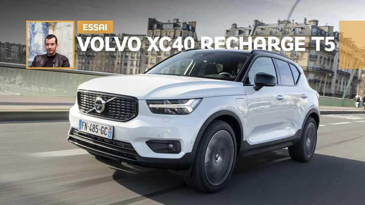 Essai Volvo XC40 Recharge T5