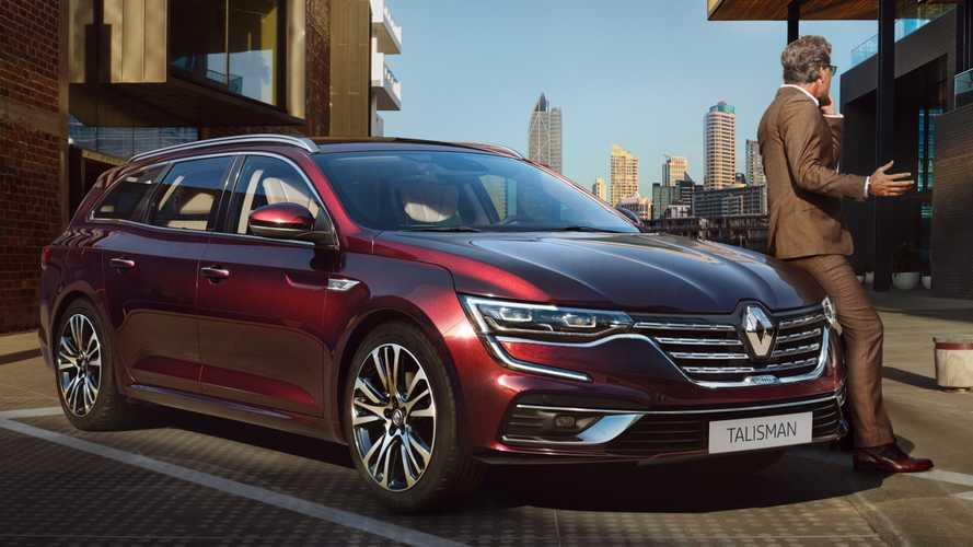 Renault Talisman Facelift Breaks Cover With Fresh Design, New Tech
