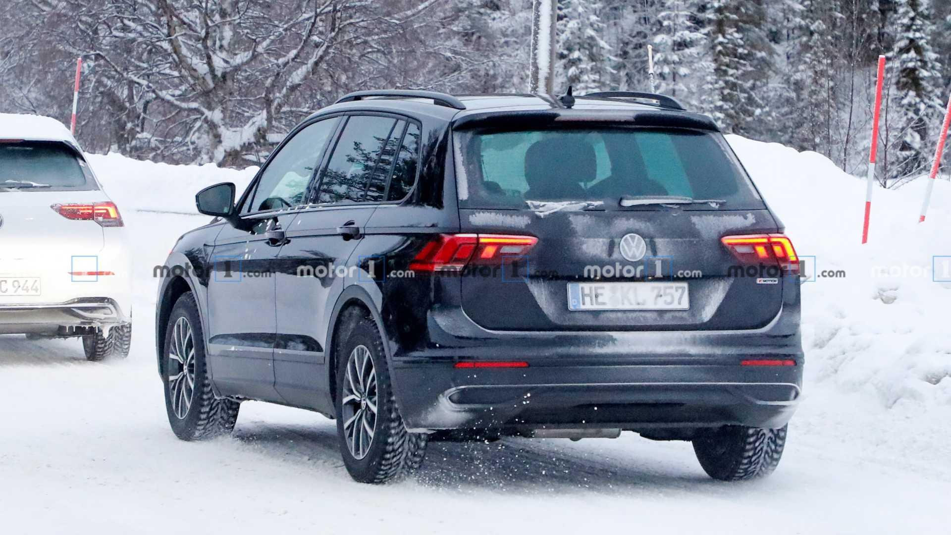 Volkswagen Tiguan 2021 Perde Camuflagem E Revela Visual Reestilizado