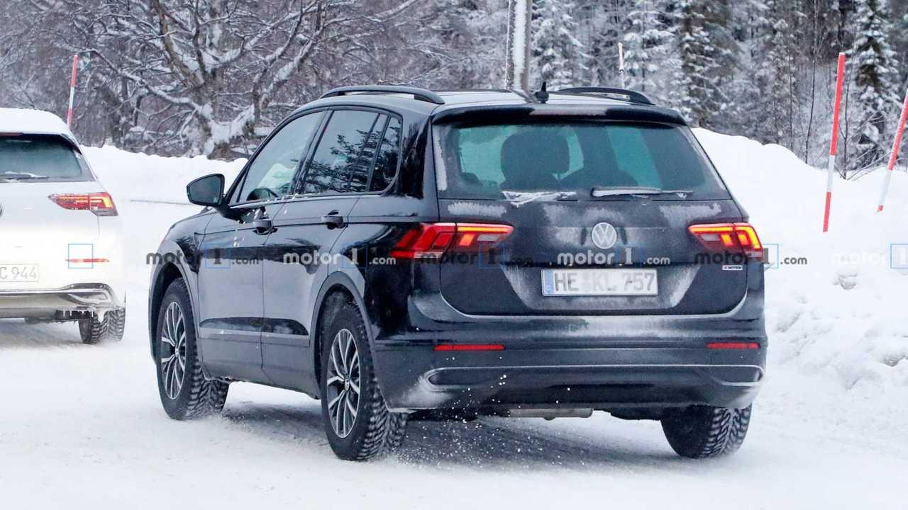 2021 VW Tiguan facelift spy photo - 4761785