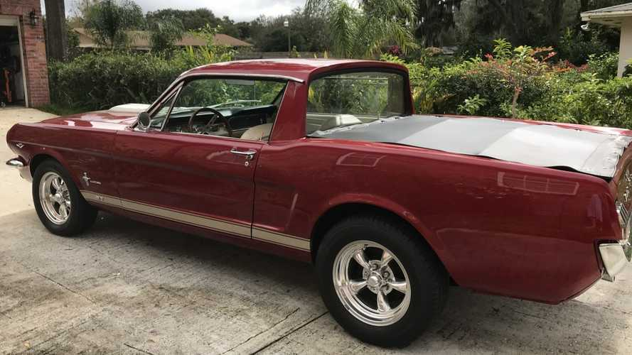 Haul It All With This Custom 1965 Ford Mustang Ranchero Mashup