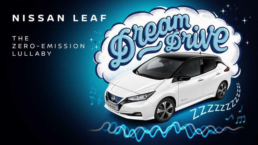 Nissan Leaf diventa Dream Drive, una playlist che addormenta i bambini