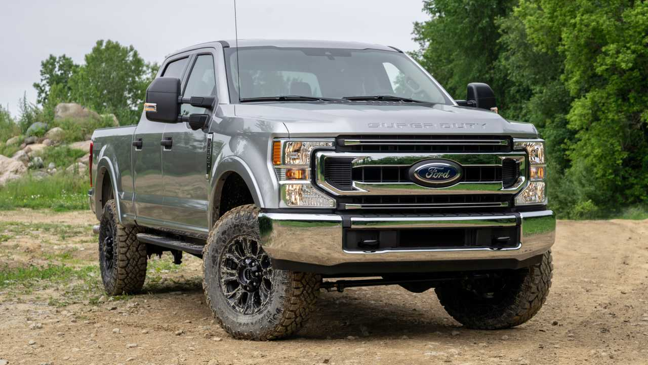 Base Ford Super Duty Tremor no longer available
