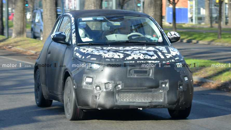 Fiat 500 EV new spy photos