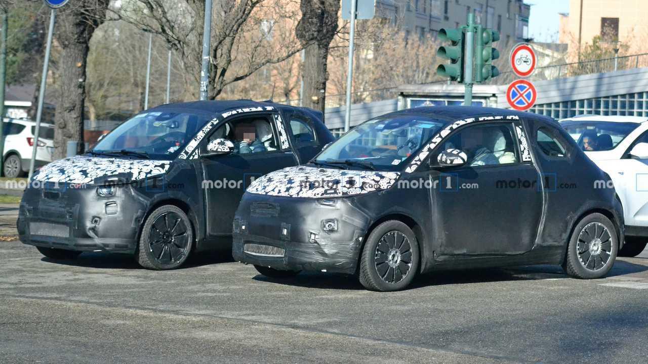 Fiat 500 elettrica nuove foto spia