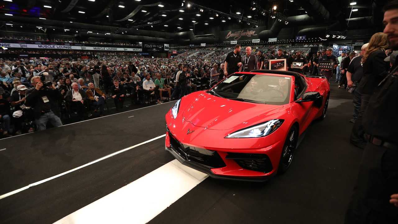 2020 Chevrolet Corvette Stingray VIN 001 Sold For $3M