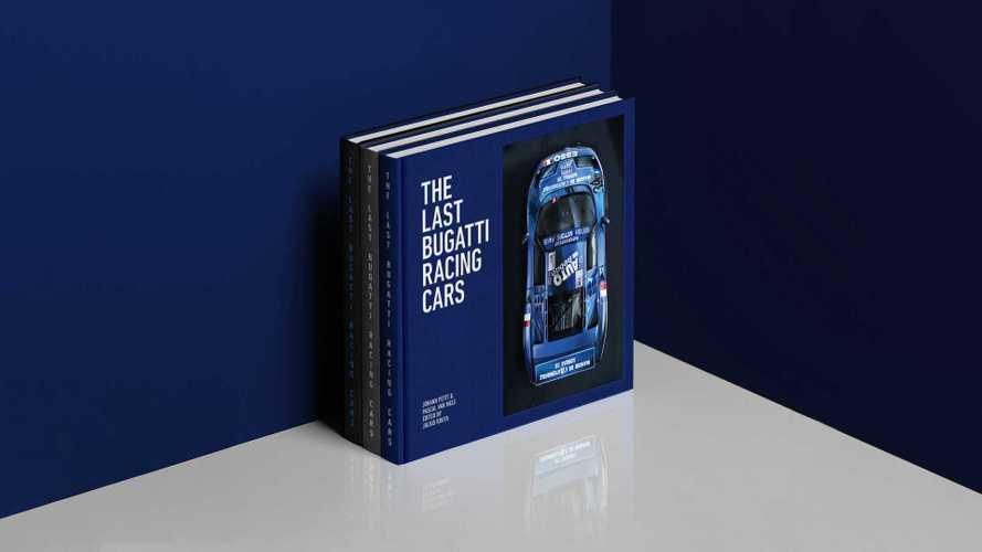 The Last Bugatti Racing Cars, il libro sulla storia della EB110