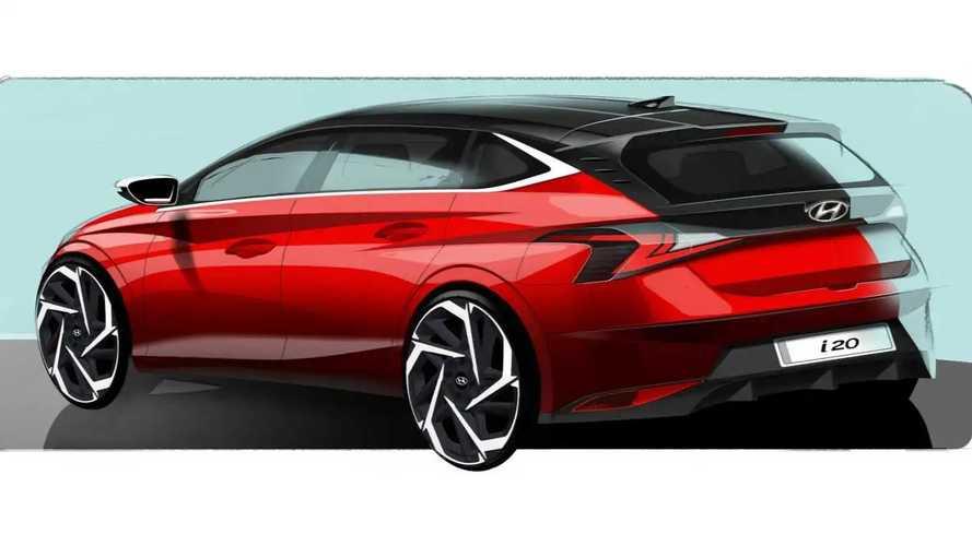 Hyundai i20 third generation teasers