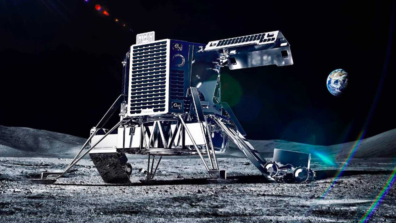 Ground-breaking ispace rover set for Goodwood UK debut