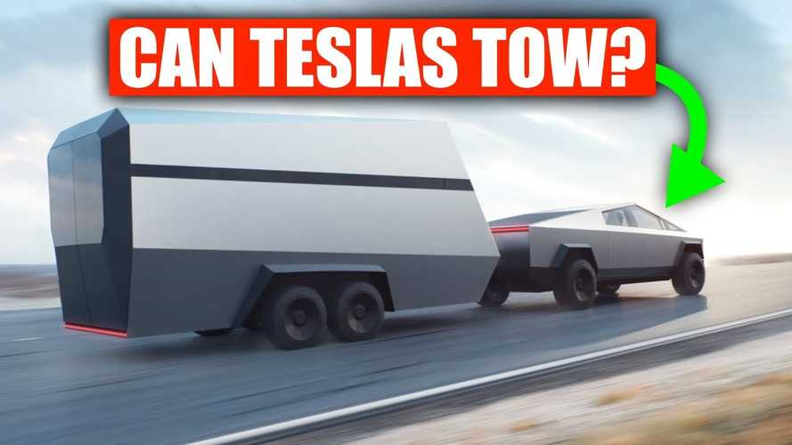 Teslas Are Arguably Bad At Towing: Will Cybertruck Change This?