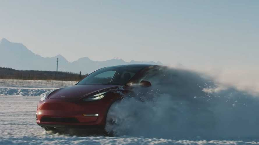 Tesla releases new video as Model Y deliveries kick off
