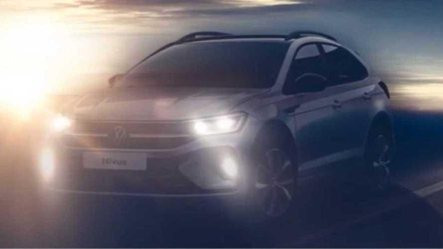 Volkswagen Nivus tem visual dianteiro revelado em nova imagem