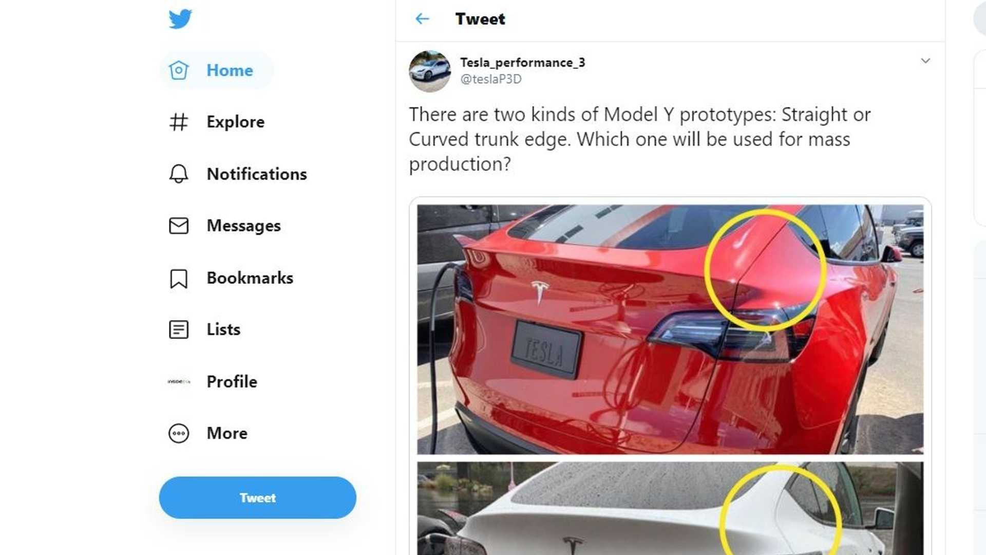 There Are Two Types Of Tesla Model Y Rear Ends, But Why?