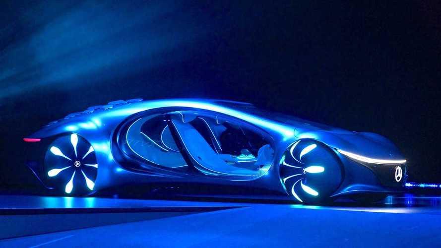 Mercedes al CES con una concept ispirata al film Avatar
