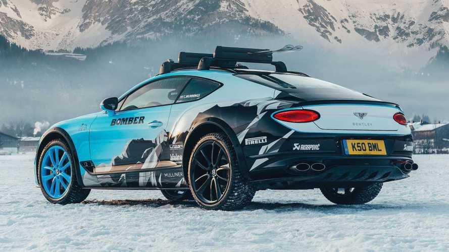 Bentley Continental GT Ice Racing