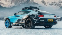 Bentley Continental GT Ice Racing
