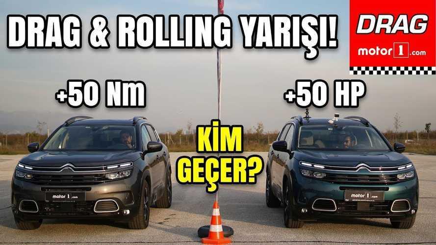 Motor1.com SUV Drag Race: Gasoline Versus Diesel Citroen C5