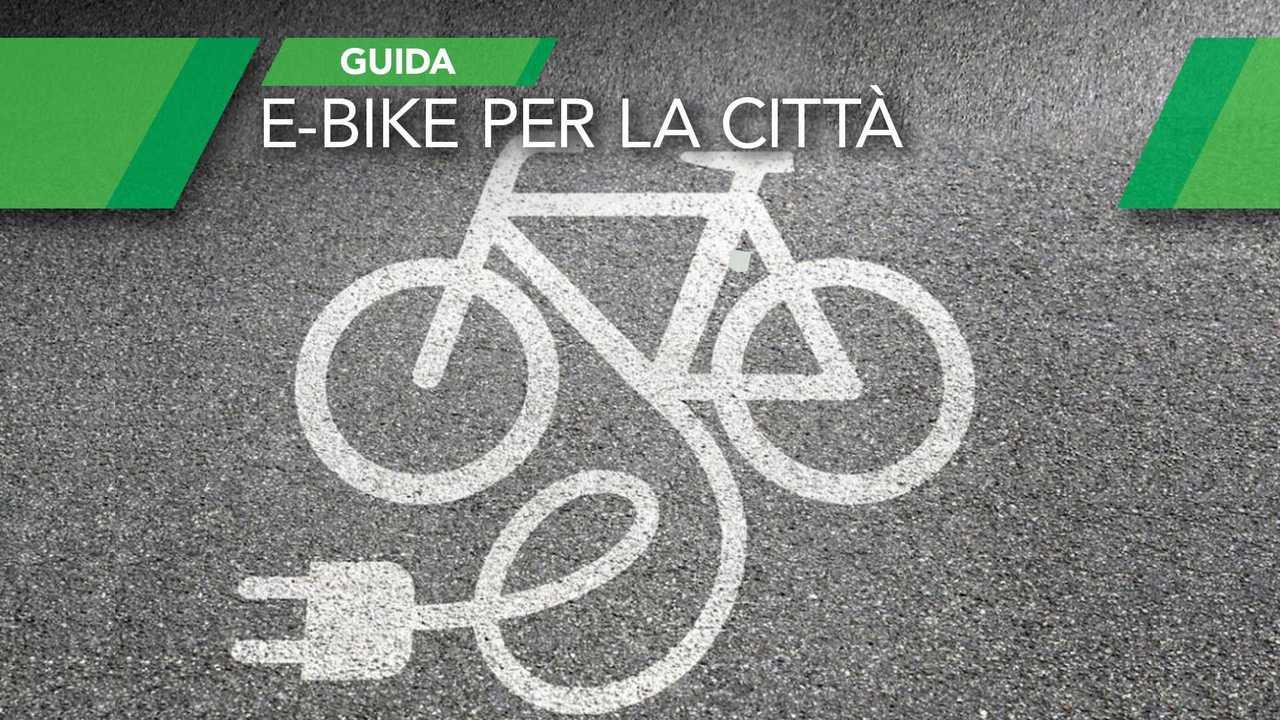 Copertine bici elettriche città