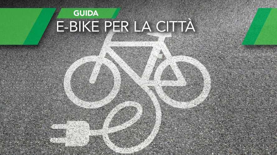 Come scegliere una bici elettrica per la città