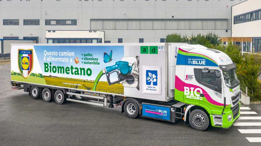 Iveco Stralis NP LC3 per Lidl a biometano