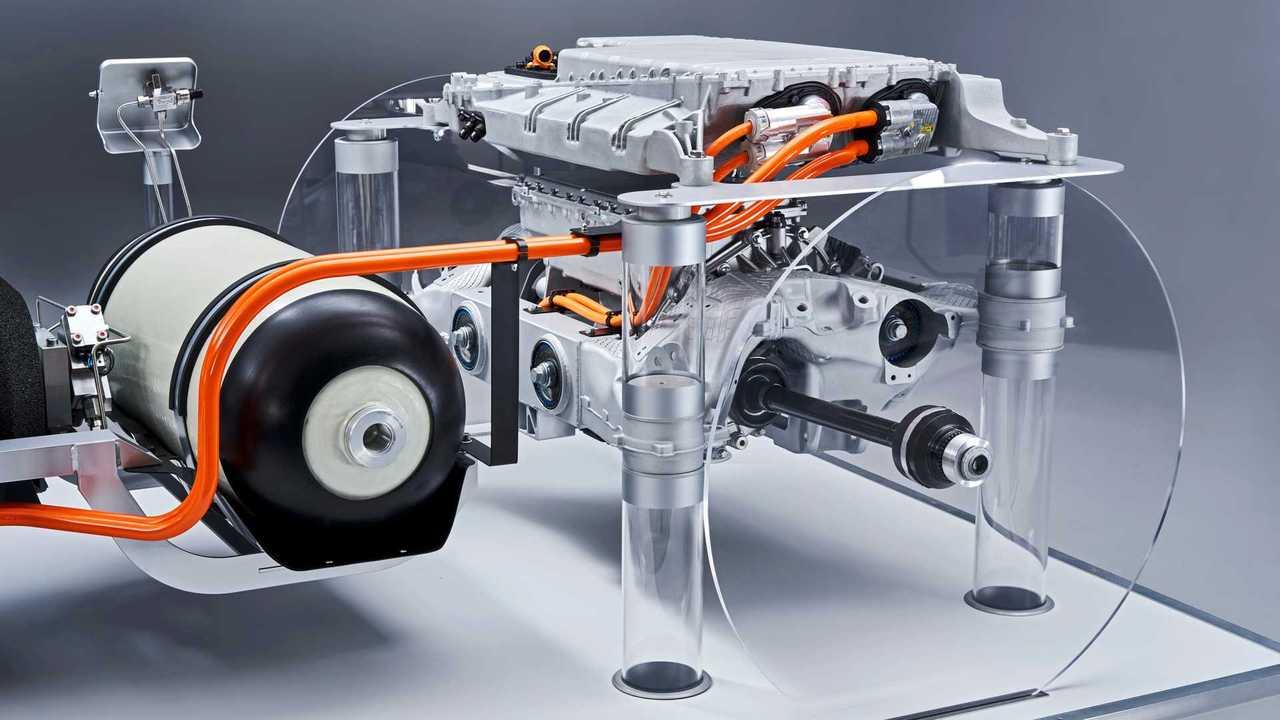 BMW i-Hydrogen Next, il motore