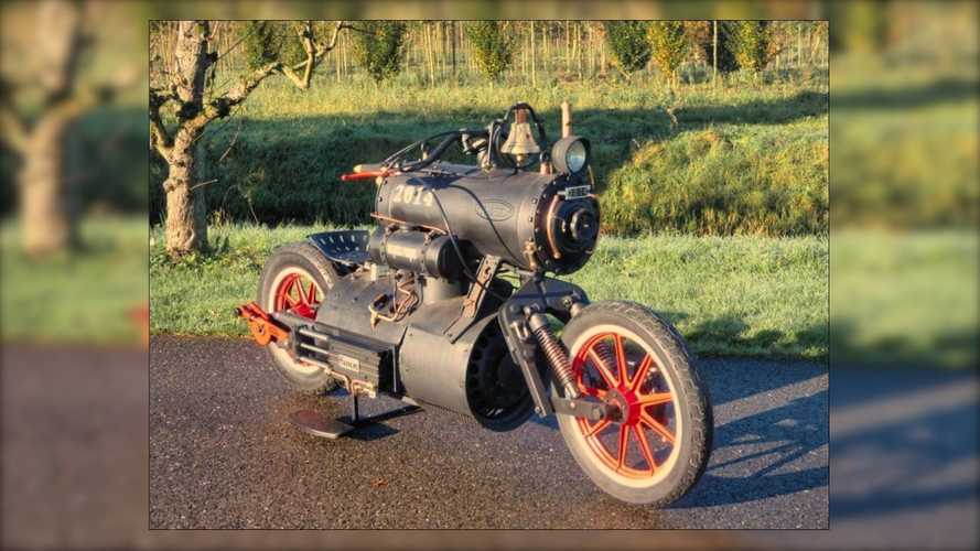 "All Aboard: This Steam-Powered Bike Is A Real ""Loco"" Motive"