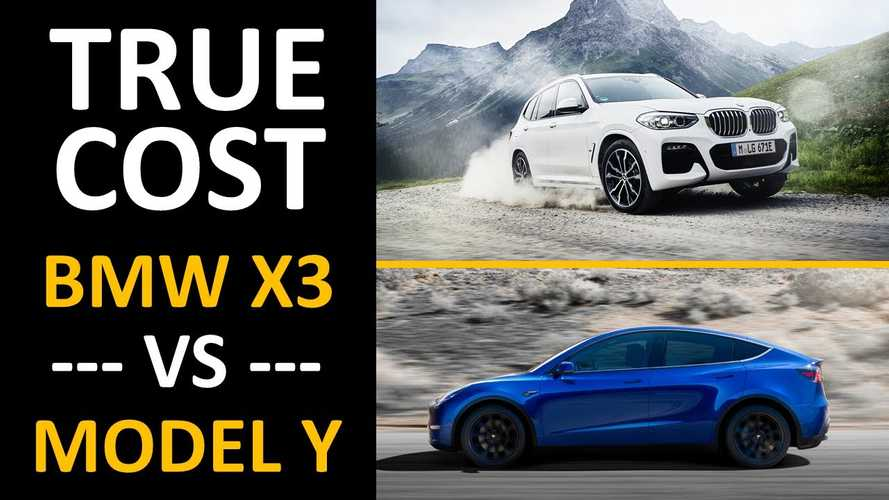 Tesla Model Y Vs BMW X3 Hybrid: 5-Year Cost Of Ownership Analysis
