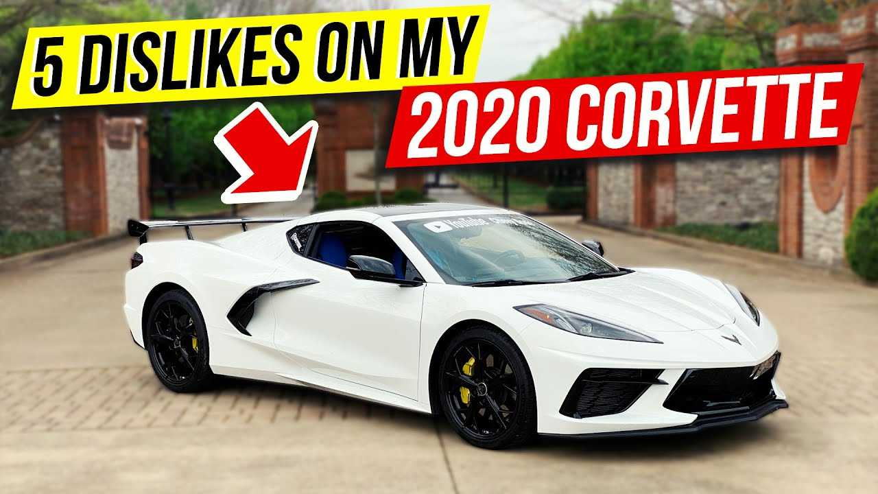 El propietario del Chevy Corvette C8 2020 habla sobre cinco cosas que no le gustan 8