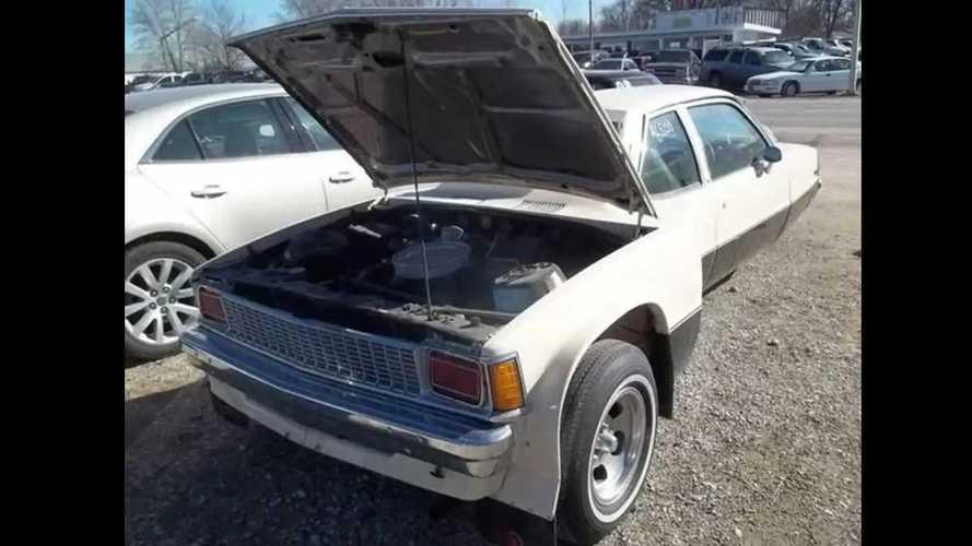 Three-Wheel Two-Seat Chevy Citation