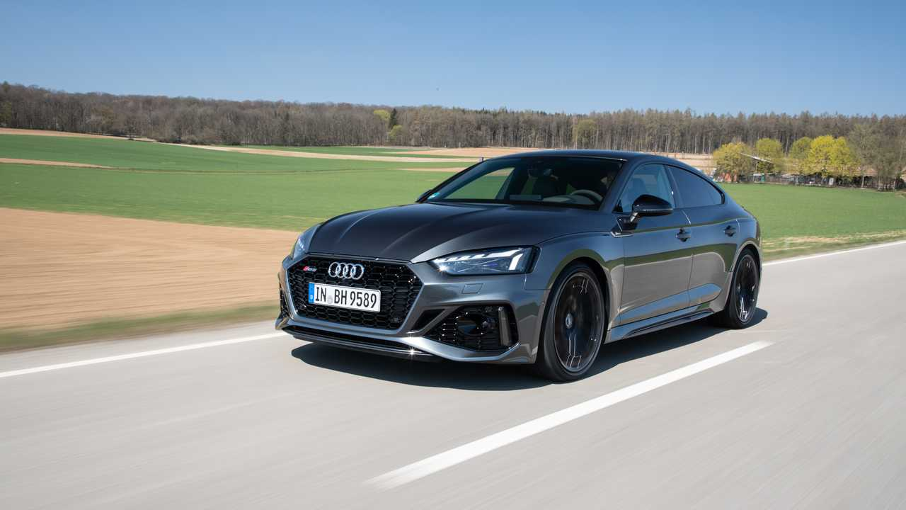 Test Audi RS 5 Sportback 2020 Facelift