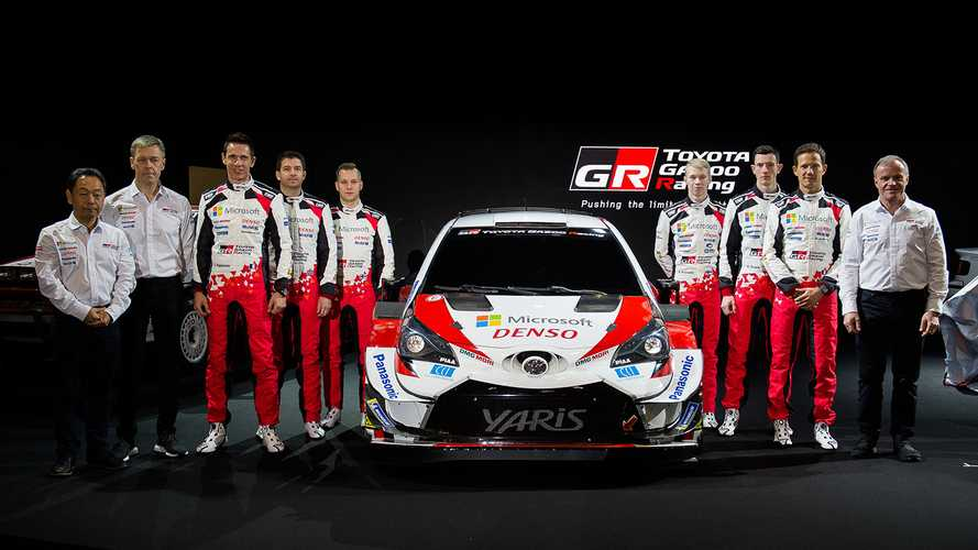 Toyota's 2020 Yaris WRC unveiled ahead of debut