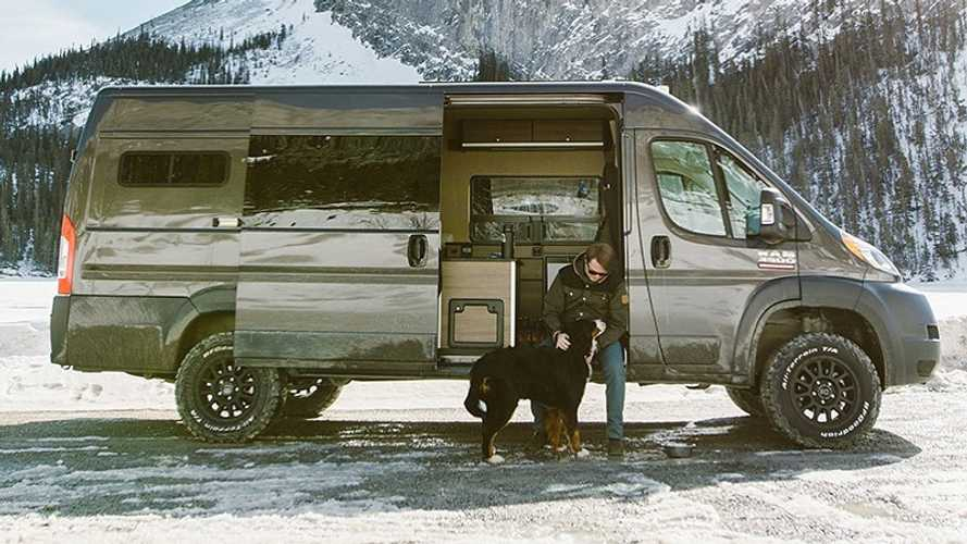 Dress Up Your Motorhome With These Black, Heavy-Duty Wheels
