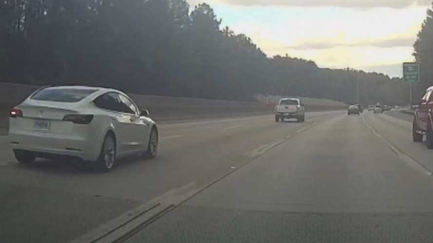 Exposing The Dangers Of Road Rage: Footage Captured By Multiple Teslas