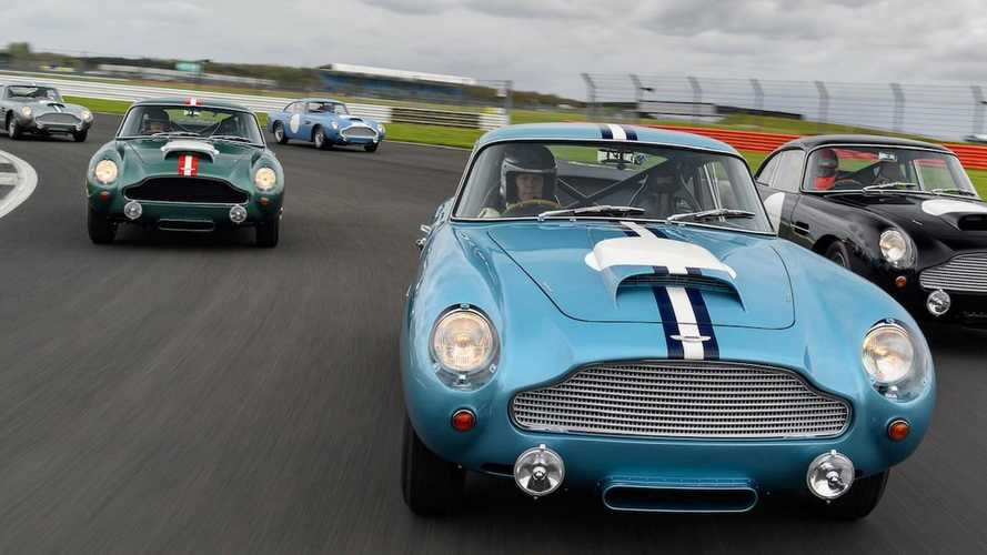First customers drive Aston Martin DB4 GT Continuation