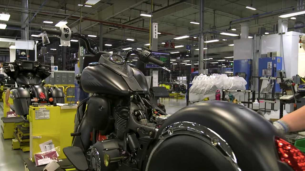 Indian Motorcycle Factory