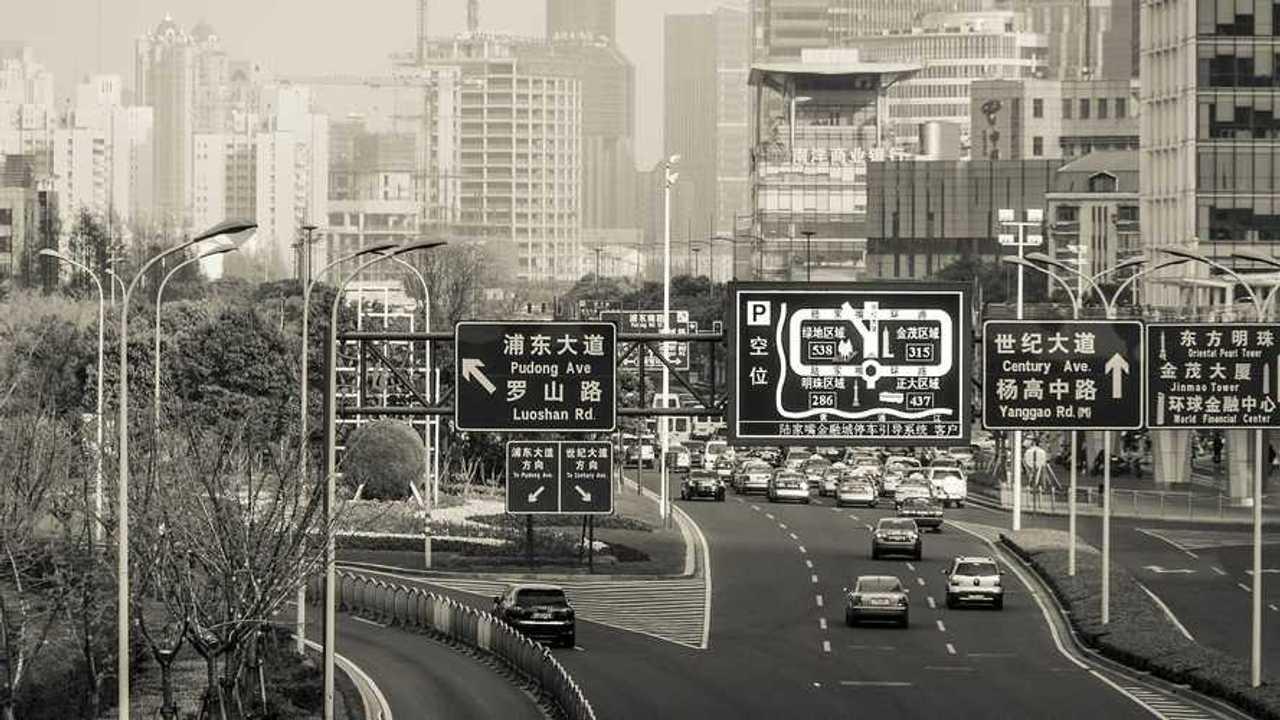 Traffico in Cina