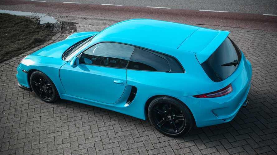 Un Porsche Boxster, transformado en un shooting brake: alucina, vecina