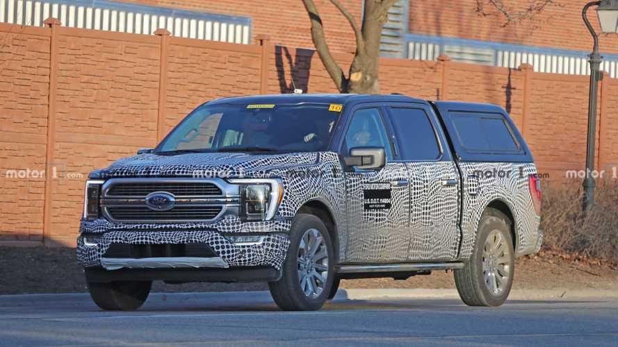 2021 ford f150 hybrid spy photos  insideevs photos