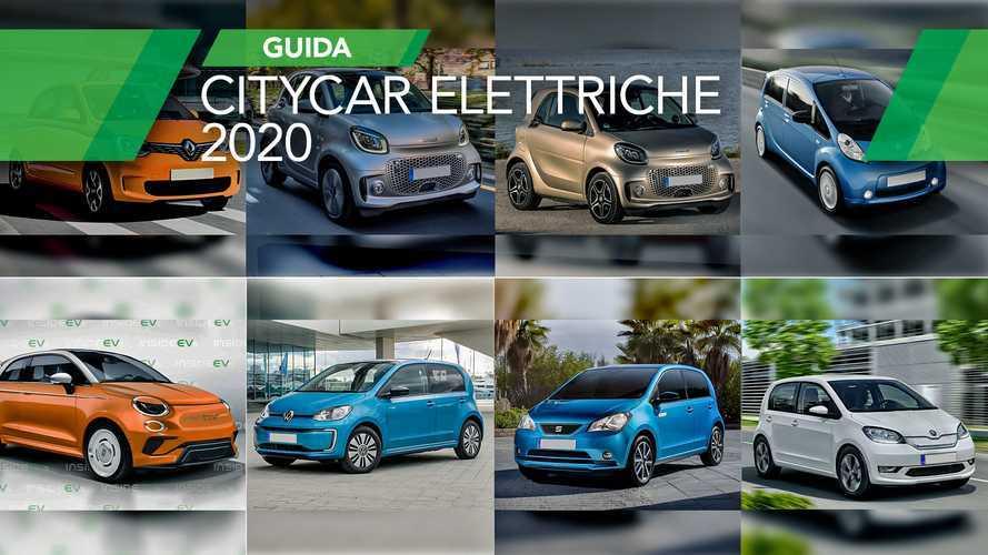 Auto elettriche, ecco il confronto tra tutte le citycar a batteria