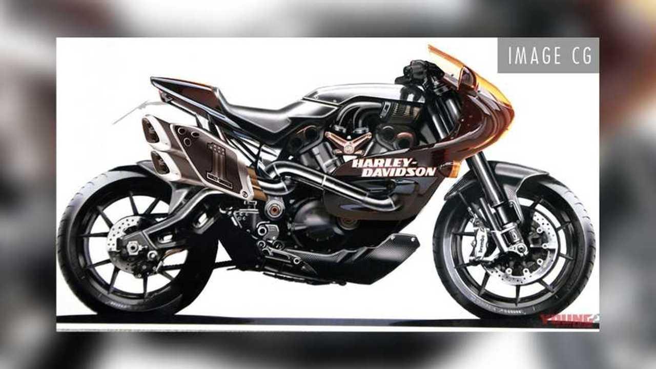Harley-Davidson VR Café Render